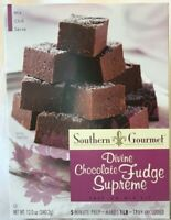 Chocolate Fudge Supreme Mix Kit Lot of 1-12 oz By Southern Gourmet Free Ship