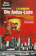 Mister DYNAMITE - Die JUDAS-Liste - C. H. GUENTER tb (1986)