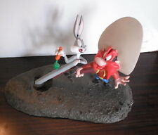 figurine Scène Looney Tunes Bugs Bunny Et Sam Le Pirate