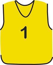 Équipements de football gants jaune taille L