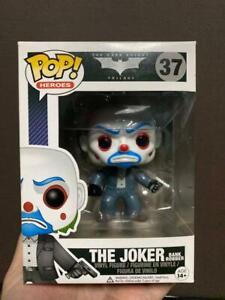 Funko Pop! Batman The Dark Knight Joker Bank Robber #37 Limited Action Figures