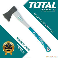 Total Tools - HAND AXE HATCHET 700mm Wood/Log Chopper Splitter Fibreglass Handle
