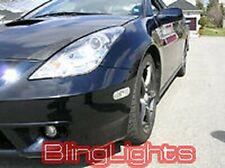 White LED Halo Angel Eye Fog Lamps Light Kit for 2000-2005 Toyota Celica GTS GT
