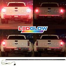 """60"""" LEDGLOW RED LED RUNNING, TURN SIGNALS & BRAKE TAILGATE LIGHT BAR FOR TRUCKS"""