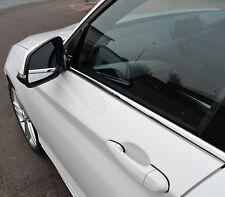 CHROME SIDE DOOR Window Sill Trim copre Set S.Steel per BMW 1 Serie F20 2011 +