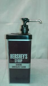 Hershey's Chocolate COMPLETE SERVER Classic HERSHEY Pouch Syrup Dispenser #87952