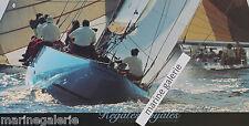 régate affiche poster voilier photo décoration marine à encadrer 1m Neuf France