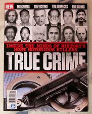 TRUE CRIME History's Most NOTORIOUS KILLERS Victims SUSPECTS Scenes CRIMES No 1