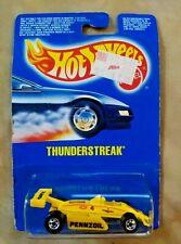 1990 Hot Wheels Yellow Team Pennzoil Thunderstreak 9545 NIP