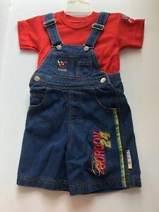 Jeff Gordon Hendrick 24 NASCAR Chase Authentics DuPont Kids Overalls & Shirt 4T