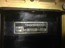 trasformatore monofase 1000 VA - 220/380 Volt  (reversibile)