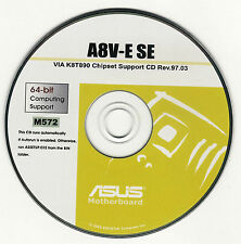 ASUS A8V-E or A8V WIFI-G Motherboard Drivers Installation Disk M572
