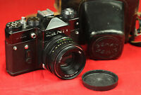 ZENIT TTL 35MM SLR CAMERA with Helios-44M 1:2/58mm M42 lens