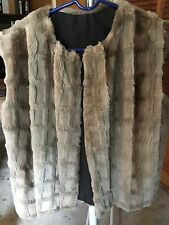 Womens Rabbit vest size medium with rips