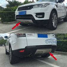 Fit Land Rover Range Rover Sport 2016 2017 Stainless Front+Rear Bumper Protector