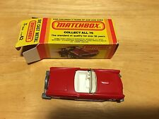 New In Box 1982 Matchbox #42 57 T Bird
