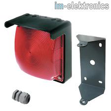 LED ampelleuchte ROJO 24V/230V luz intermitente Puerta ACCIONAMIENTO GARAJE