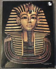 RARE VINTAGE TUTANKHAMUN 500 Piece JIGSAW PUZZLE 1977 SPRINGBOK USA COMPLETE