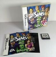 The Sims 2 Nintendo DS Game with Case & Instruction Booklet VGC - FREE Postage