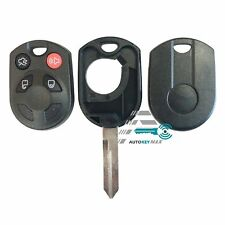 Keyless Entry Remote Car Key Fob Shell Case Cover for Ford OUCD6000022 4 Button