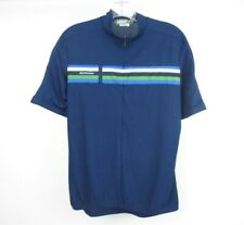 SUGOI Men's Cycling Jersey Shirt 1/2 Zip Blue Men's Large