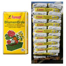 50 Sack Blumenerde FOREST á 40 Liter = 2000 Liter Pflanzerde Uni-Gartenerde NEU