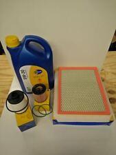 VAUXHALL ZAFIRA MK2 1.9 CDTI 05-10 SERVICE KIT OIL AIR FUEL FILTER 5L ENGINE OIL