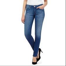 NEU, Wrangler Damen Jeans, Skinny, Röhre, Slim, Hose, Corynn, W25F, Gr. 28, blue