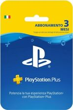 Ps plus 3 mesi