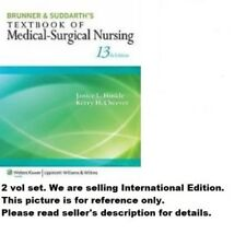 2 Vol. Set. Brunner & Suddarth'S Textbook Of Medical - Su 13E by  Janice L.