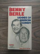 JACK BENNY MILTON BERLE - LEGENDS OF AMERICAN COMEDY - VHS VIDEO - 1990