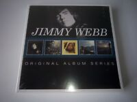 JIMMY WEBB - ORIGINAL ALBUM SERIES 5 CD SET NEW SEALED 2015 WARNER