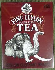 Fine Ceylon Orange Pekoe Tea Mlesna pure ceylon tea 250g