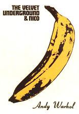 Poster Velvet Underground - Andy Warhol Banane  ca60x85cm NEU 11077