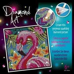 Diamond Painting - Diamond Art 2027 Flamingo DIY Craft Kit