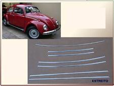 VW BUG 7 PIECE BODY MOLDING KIT Ref. EMPI 98-1060-B 66 68-72 79 Beetle WIDTH 1CM