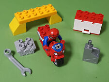 Parte de Lego Duplo Set 10607 Hombre-araña web Taller De Bicicleta * * incompleto