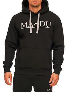 MADDU Herren Sweatshirt Streetstyle Joggingoberteil Training Sport Pullover NEU