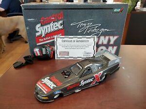 2001 Tony Pedregon Castrol Syntec Test Mustang 1:24 NHRA Funny Car Revell MIB