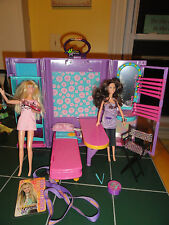 HANNAH MONTANA Secret Celebrity Carrying Case+2 Hannah Dolls.1 sings+Xtras Rare!