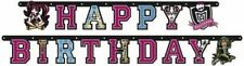 1.8m Monster High Party Happy Birthday Cutout Letter Banner Decoration