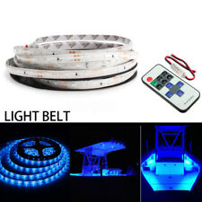 5M/16ft Wireless Waterproof LED Strip Light 12V For Boat Truck Car SUV RV Blue