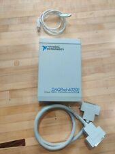 National Instruments Ni Daqpad 6020e For Usb Legacy 100 Kss 12 Bit 16 Analog