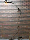 "Vintage Industrial WOODARD Articulating Floor Lamp Work Light Restored 76"" Tall"