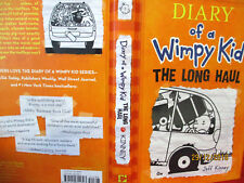 Jeff Kinney DIARY OF A WIMPY KID #9 THE LONG HAUL hardcover