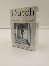 New Dutch: A Memoir of Ronald Reagan by Edmund Morris (1999, Audio Cassette) NEW
