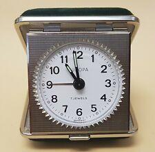 EUROPA kleiner Wecker Reisewecker Germany - vintage travel alarm clock 60s