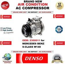 DENSO AIR CONDITION AC COMPRESSOR OEM: 2300011 for MERCEDES BENZ S-CLASS W140