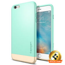 [Spigen Outlet] Apple iPhone 6 Plus / 6S Plus [Style Armor] Mint Two-Tone Case