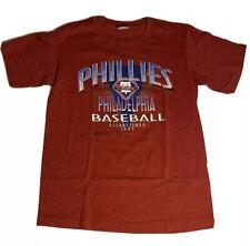 New listing Vintage Trench 1993 Philadelphia Phillies Baseball Red T-Shirt Mens Large L S/S
